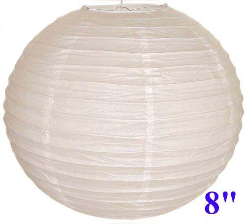 White Chinese/Japanese Paper Lantern/Lamp 8