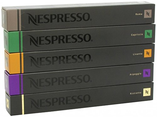 Nespresso Variety Pack for OriginalLine, 50 Capsules, 1.76 oz (Espresso Pods For Nespresso compare prices)