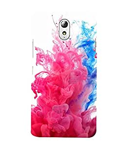 Vizagbeats Color Theme Back Case Cover for Lenovo Vibe P1m