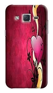 Expertdeal 3D Printed Hard Designer Samsung Galaxy J2 (2016) Mobile Back Cover Case Cover