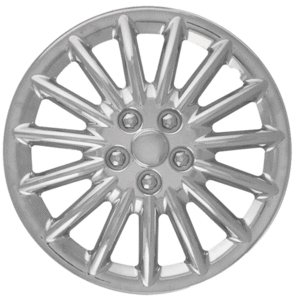 CCI IWC188-16C 16 Inch Clip On Chrome Finish Hubcaps - Pack of 4