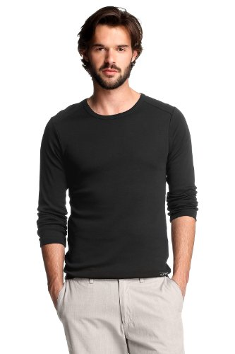 Esprit Men's Longsleeve Top  Black L