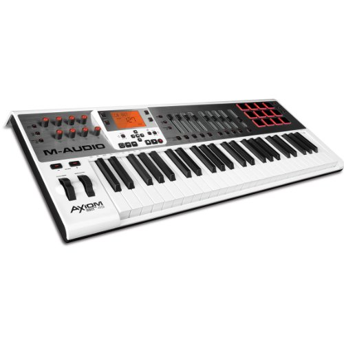 m audio axiom air 49 49 key usb midi keyboard controller with pro tools express and ignite by. Black Bedroom Furniture Sets. Home Design Ideas