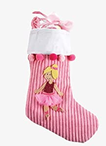 Mud Pie Princess Stocking, Blonde
