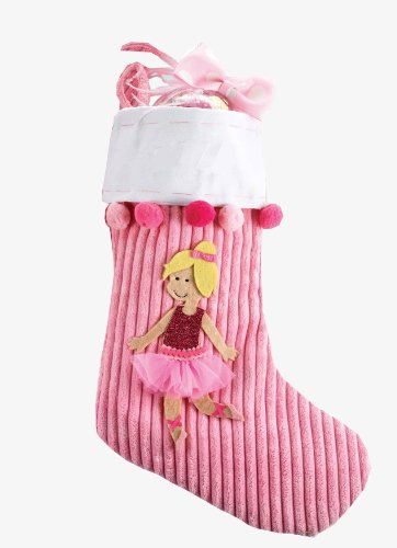 Mud Pie Princess Stocking, Blonde (Discontinued by Manufacturer) - 1
