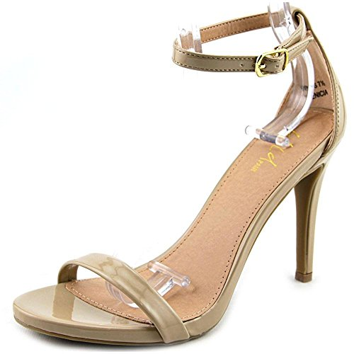 Wild Pair Women's Benicia Dress Sandal, Nude, 7.5