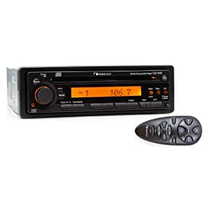 CD400 Sound Quality CD Player and AM/FM Receiver : Vehicle Cd