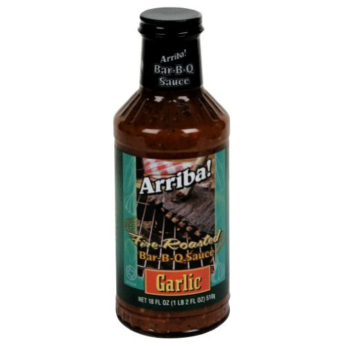 Arriba, Sauce Bbq Garlic, 18 OZ (Pack of 6)