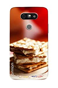 Omnam Biscut With Cream For Food Lover Printed Designer Back Cover Case For LG G5