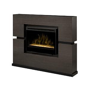 Amazon Com Dimplex Linwood Electric Fireplace Glass