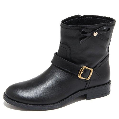 3857N biker TWIN-SET stivaletti bimba boots shoes kids nero [24]