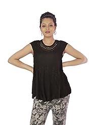 Shopping Rajasthan Exclusive Design Ethnic Rayon Crepe Handmade Handloom Kurti Top - B00PHBXCIE