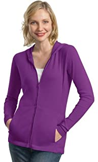 Port Authority Women's Modern Stretch Cotton Jacket_Sprklng Grape_M