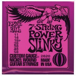 Ernie Ball Slinky Nickel Wound Electric Guitar Strings from Ernie Ball