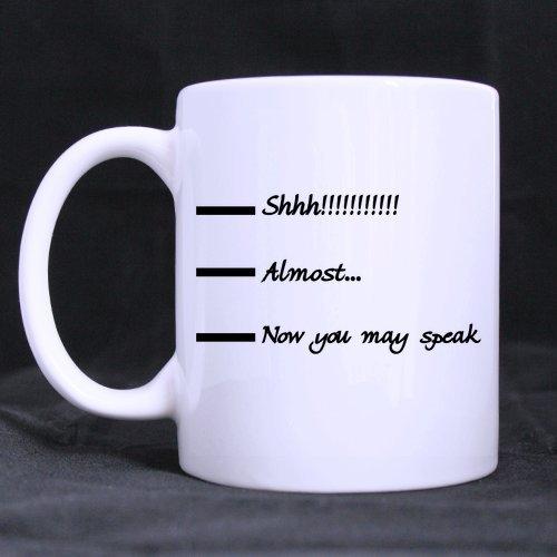 Shhh Coffee Cup