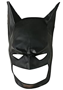 Batman: The Dark Knight Rises: Batman Full Mask, Child Size (Black)