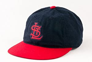 St Louis Cardinals MLB American Needle Statesman Cap Washed Flannel Vintage Leather... by American Needle