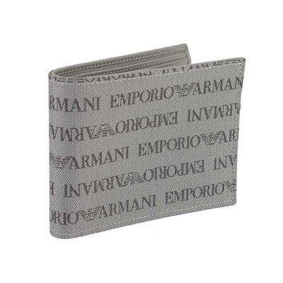 (エンポリオ・アルマーニ) EMPORIO ARMANI 二つ折り財布 メンズ 86156 YEM122 [並行輸入品]