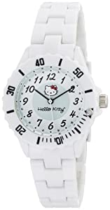 Hello Kitty Women's H3WL1004WT White Dial Watch