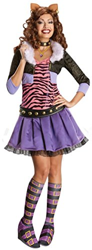 Monster High: Clawdeen Wolf Deluxe Costume