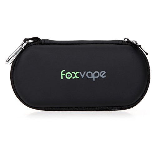 Foxvape Ego Travel Carry Vape Case Multiple Uses for Vape Kit,Ego Battery,Ego C Twist,Power Bank,Sigelei,Aspire,Kanger/Kangertech,Eleaf iStick,Wismec,Pioneer4You IPV,Snow Wolf Brands Mod (Black) (Vapors For Smoking compare prices)