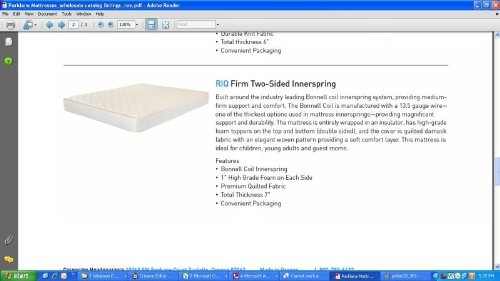 Twin Size Firm Innerspring Mattress 38