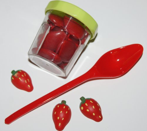 Pot à  confiture à  dragées ( lot de 10 )-tilleul