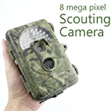 8MP Mega Pixel Stealth Trail Scouting Deer Hunting Game Spy Wildlife Nature Camouflage Infrared Digital Camera with Video Recorder function Picture