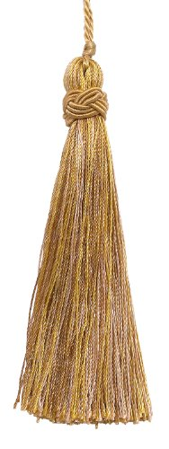 "For Sale! Set of 10 Decorative Antique gold 4"" Tassel, Imperial II Collection Style# ITS Color:..."