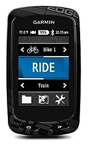 Garmin Edge 810 - Compteur GPS cartographique connecté pour vélo - Noir - Sans cartographie TOPO France v3 Pro