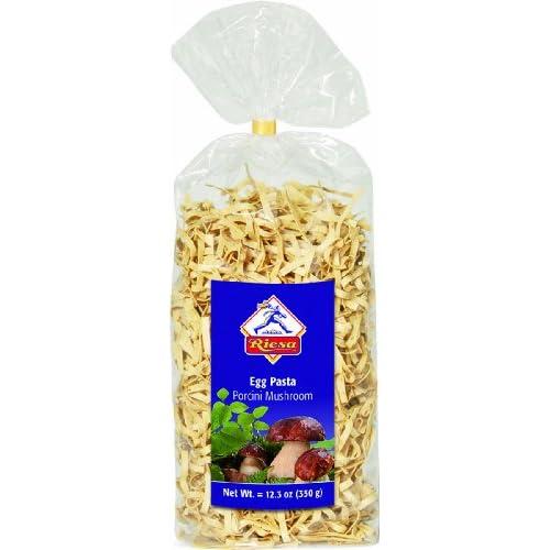 Amazon.com : Riesa Egg Pasta, Porcini Mushroom, 12.30 Ounce : Egg ...