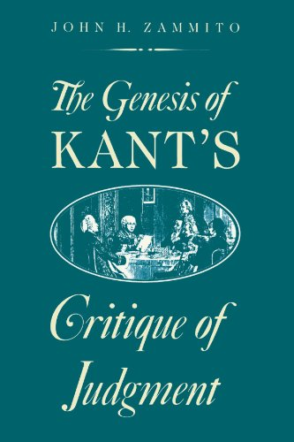 The Genesis of Kant's Critique of Judgment