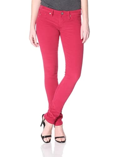 SOLD Design Lab Women's Cord Skinny Jean  - Rose