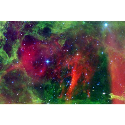 (12X18) Every Rose Has A Thorn Nebula Space Photo Indoor/Outdoor Plastic Sign