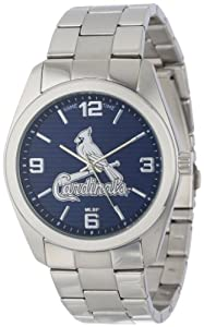 Game Time Unisex MLB-ELI-STL Elite St. Louis Cardinals 3-Hand Analog Watch by Game Time