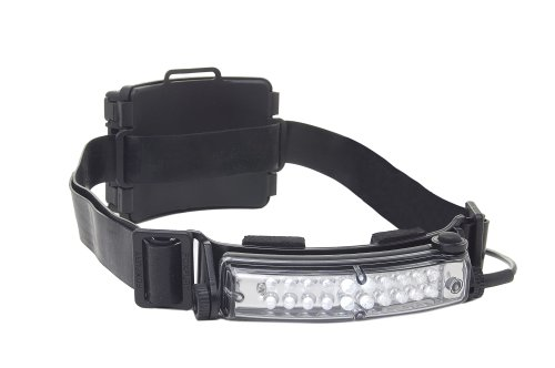 Foxfury 420-009Rs Command 20 Tasker S Rechargeable Led Helmet Light With Silicone And Elastic Strap, 60 Lumens