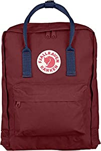 Fjallraven Kanken Daypack, Ox Red/Royal Blue