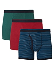 3 Pack Cool & Fresh™ Pure Cotton Feeder Trunks with StayNEW™