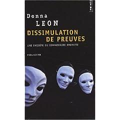 Dissimulation de preuves - Donna Leon