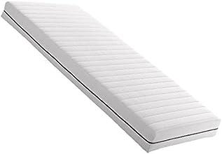Betten-ABC 10000125;4054 Modell Traumnacht Orthopädische Kaltschaummatratze, 7 Zonen, Raumgewicht RG 30, Höhe 16 cm, Bezug waschbar bis 60 Grad Celcius, Größe 90 x 200 cm, Härtegrad H3