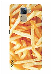 Noise French Fries Printed Cover for Huawei Honor 7