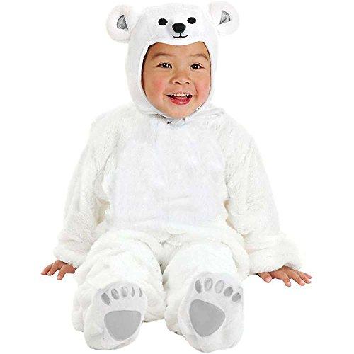 Little Polar Bear Baby Costume - Newborn
