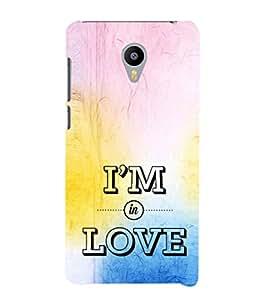 EPICCASE I'm in Love Mobile Back Case Cover For Meizu M2 (Designer Case)