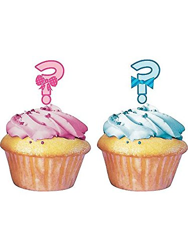 "Gender Reveal ""?"" Cupcake Topper"