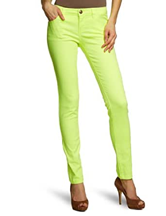 ONLY - Pantalon Skinny - Femme - Jaune (Neon Yellow) - W34/L32