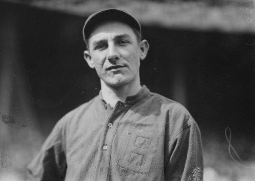 1914 photo Charlie Deal, Boston NL baseball