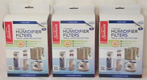 Sunbeam Cool Mist 3 Standard Humidifier Filters Size E