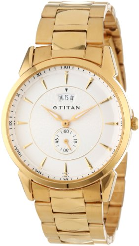 Titan Men'S 1521Ym01 Regalia Date Function Watch