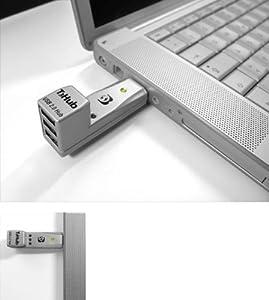 T3Hub USB 2.0 Hub, Silver
