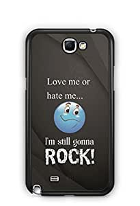 YuBingo I am Gonna Rock Mobile Case Back Cover for Samsung Galaxy Note 2